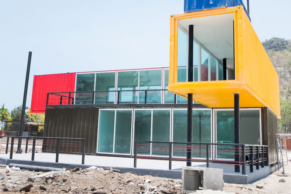Shipping Container Houses In Austin Contain Builders